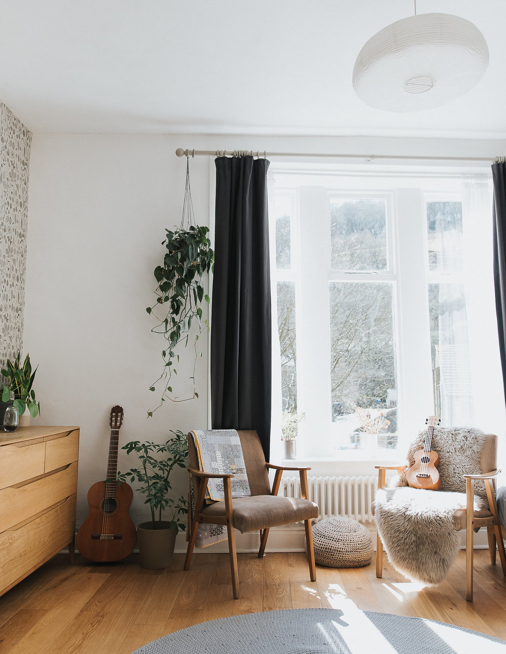 home tour with british designer Hannah Nunn