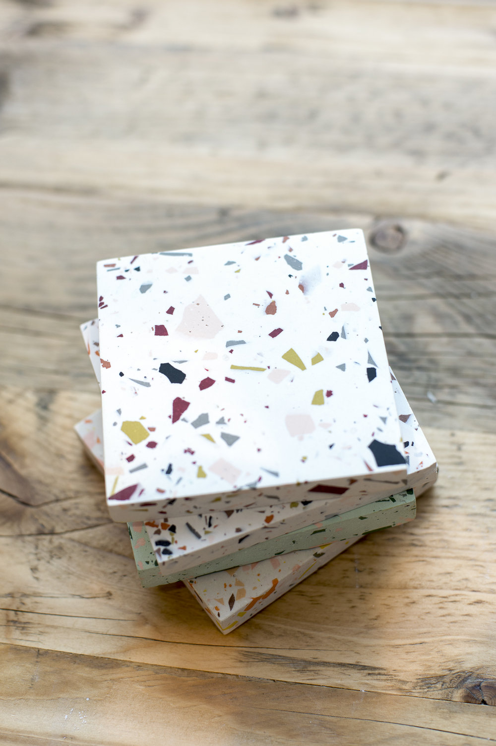 Terrazzo coaster making with Olivia Aspinall