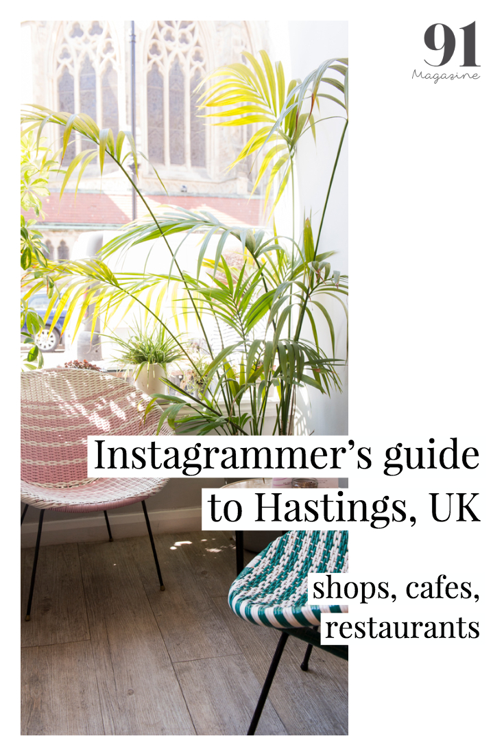 91 Magazine's Instagrammer's guide to Hastings, UK