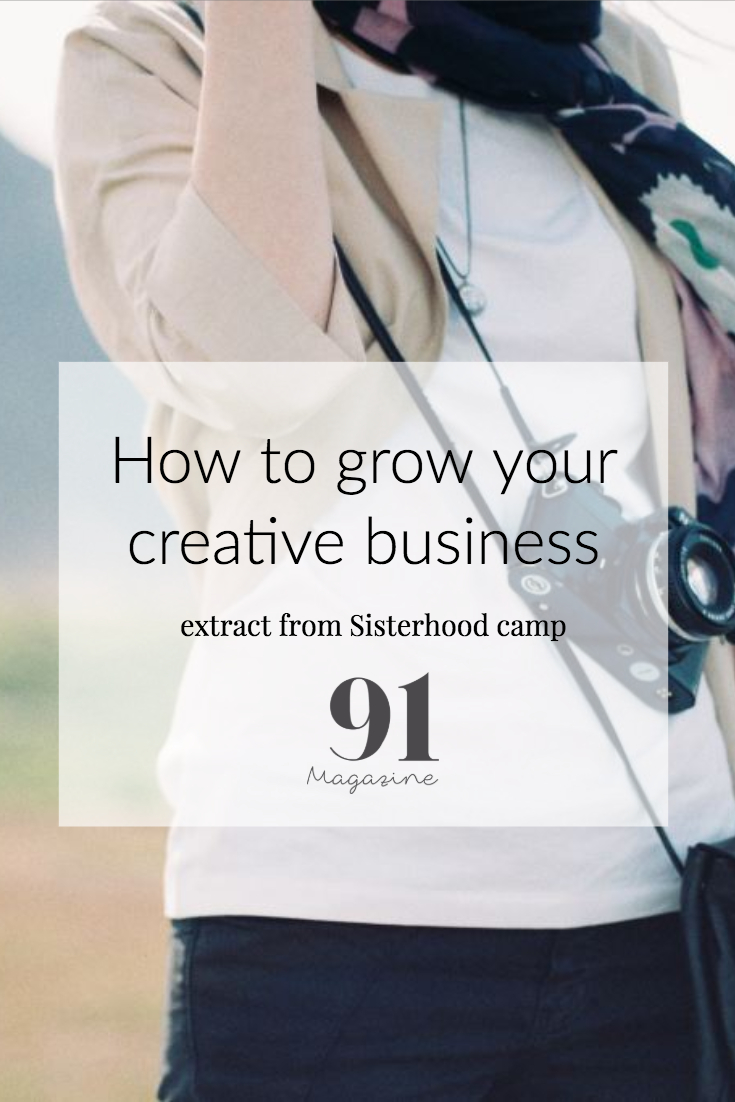Growing your creative business