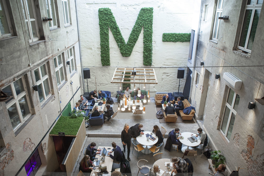 MESH co-working space in Oslo - Food & Drink Bar