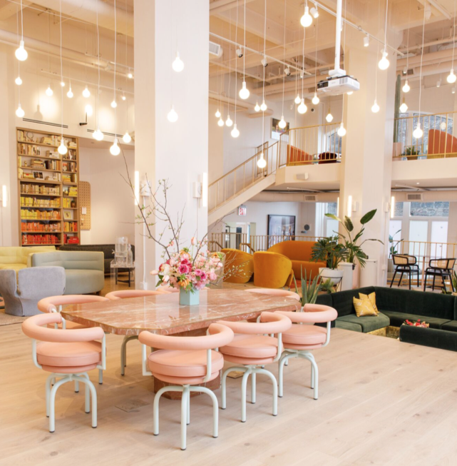 The Wing - female only co-working spaces - New York