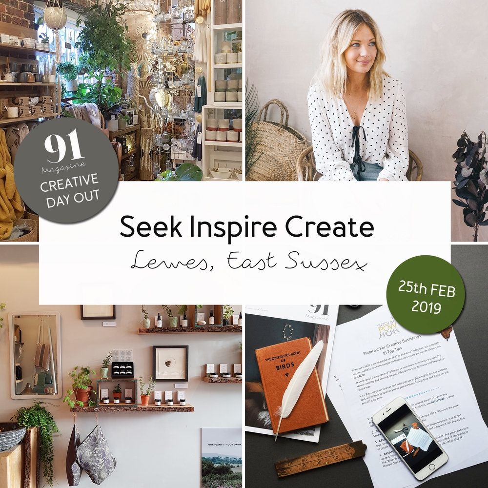 91 Magazine Seek Inspire Create day out in Lewes