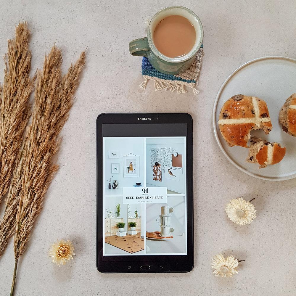 91 Magazine Seek Inspire Create e-zine