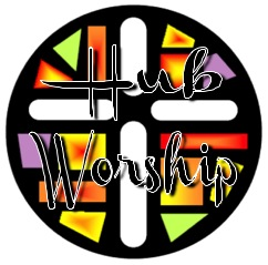 hub worship colour logo