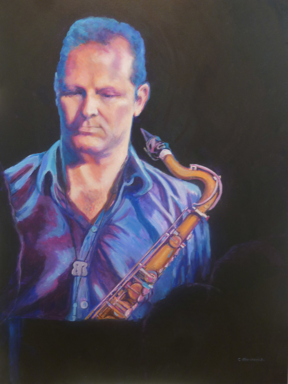 The Beat Goes On- Jamie Oehlers.750x900.Oils on canvas.JPG