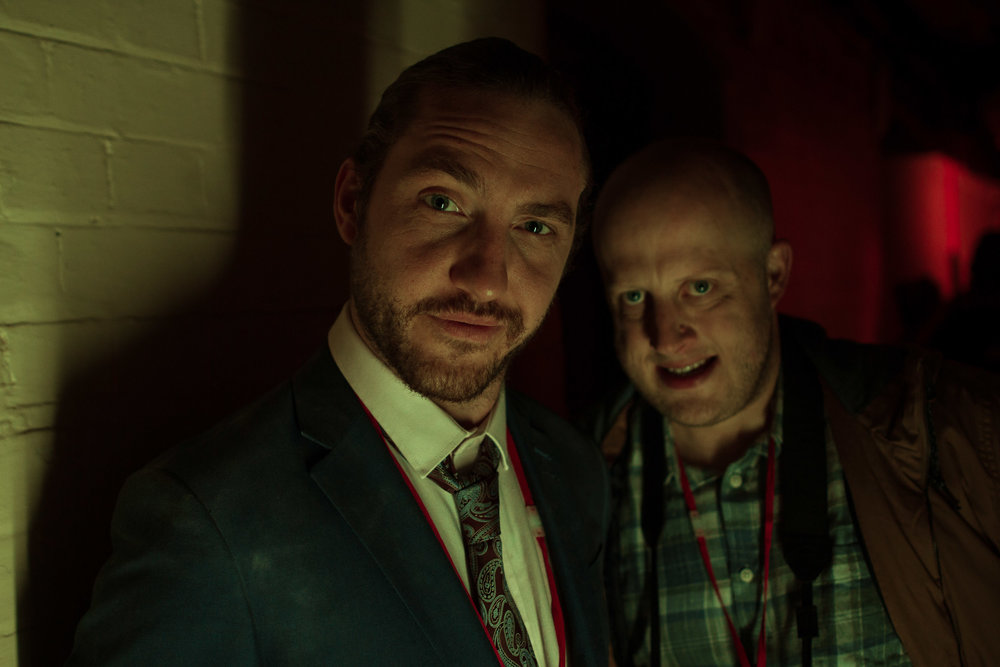 "Seann Walsh, Marek Larwood in the feature film ""2:hrs"""