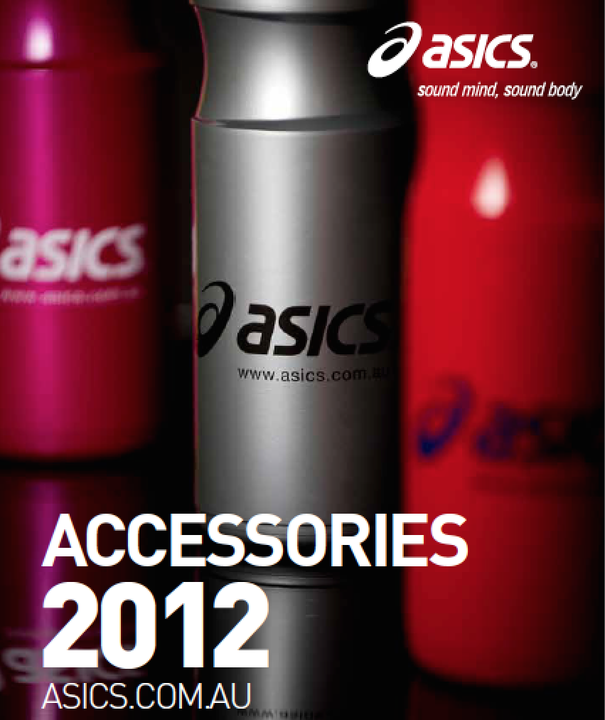 ASICS product brochure