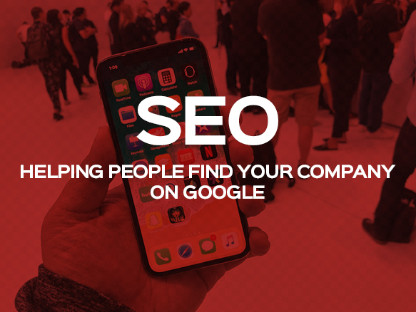 SEO stands for Search Engine Optimisation, it is a service that enhances your website's position on Google so people can find you easier.  GOOGLE SEARCH - ONLINE MARKETING - AFFORDABLE SEO