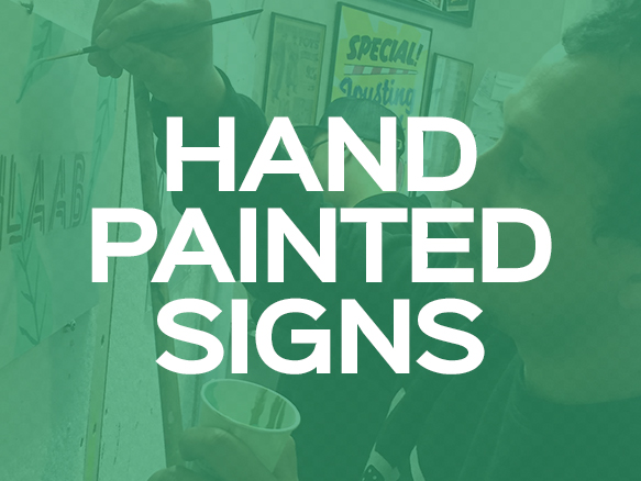 Give your business an authentic feel with hand painted signs. You can go with modern vinyl printed signs if that suits you. SIGNAGE - HAND PAINTED - TRADITIONAL - BRUSH - LETTERING - CAFE - RESTAURANT - TYPE