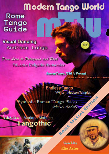 Modern Tango World - The international publication featured the artwork of W.Hudson in its summer 2017 edition.