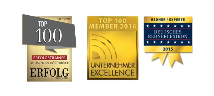 Vanessa Weber Top 100 Unternehmer Excellence