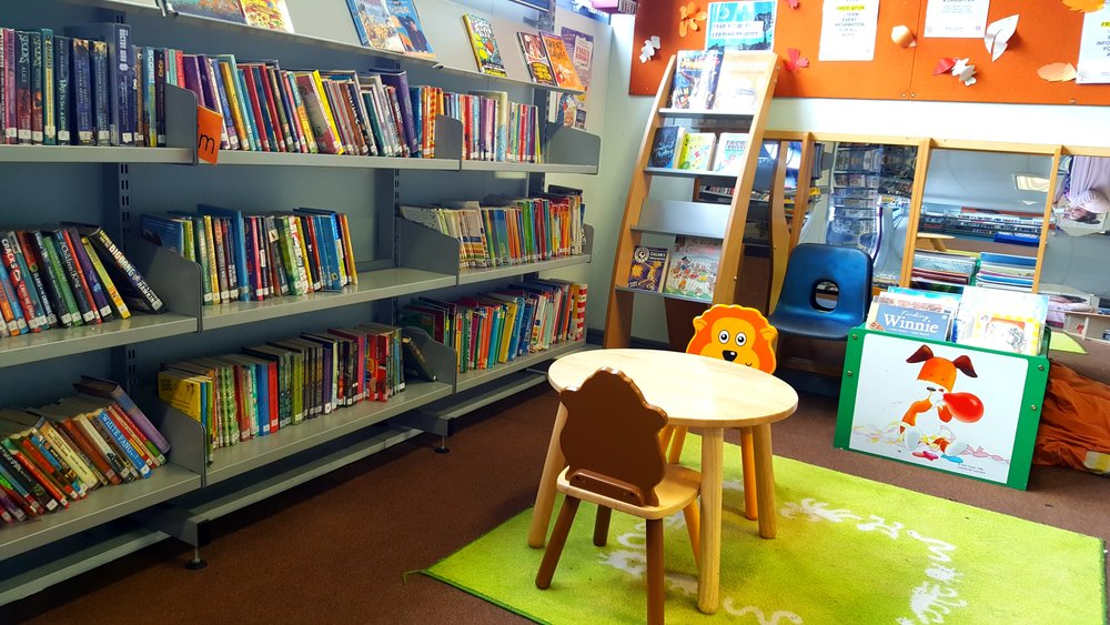 Library at St Pauls Learning Centre, Bristol