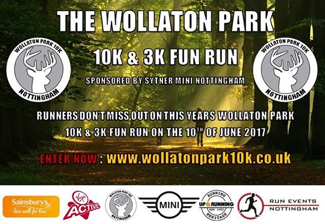 Have you entered yet?? Www.wollatonpark10k.co.uk #10k