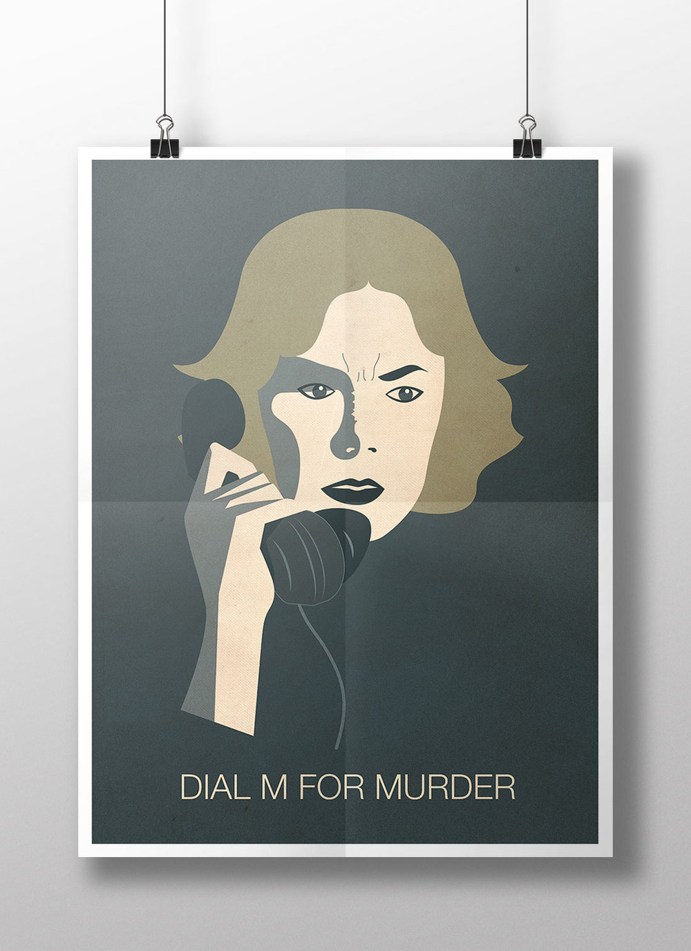 Dial M for Murder , Alfred Hitchcock, 1954