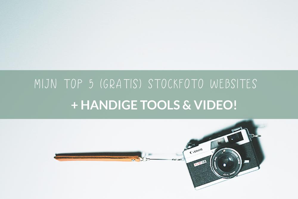 De 5 beste gratis stockfoto websites voor ondernemers.