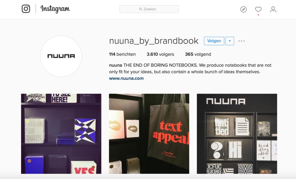 Kijk eens naar de prachtige missie van Nuuna. Als notitieboekjes het kunnen, dan kun jij het ook!