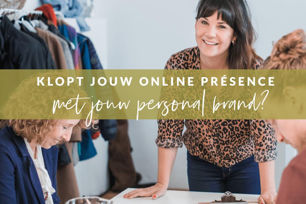 Wat is personal branding? En visual branding? Branding is NIET het laten maken van een website!