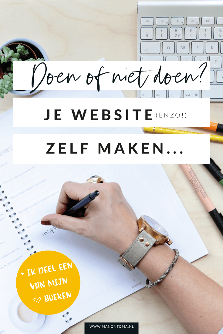 Wil jij zelf je website maken? Laat ik je beginnen te vragen met te checken of jij de CEO, de manager of de uitvoerder bent binnen jouw bedrijf. Als je net zoals ik op alle drie de stoelen zit is het tijd om iets te verander. Lees het hier >>