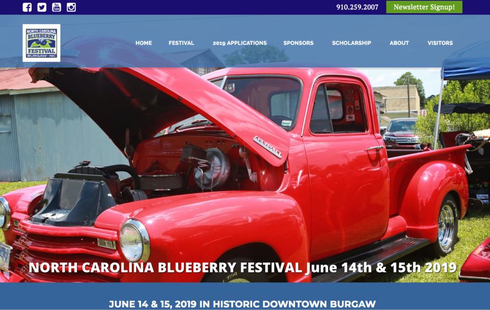 NC Blueberry Festival