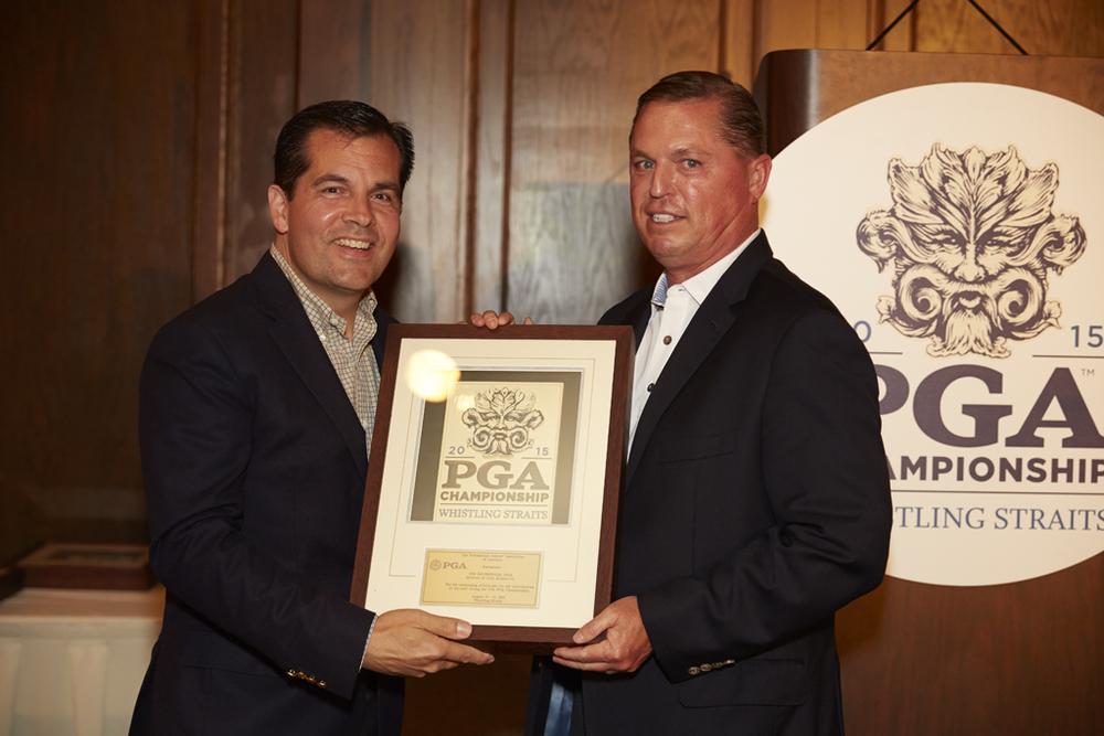 Derek Sprague & Jim, PGA Host Professional Plaque