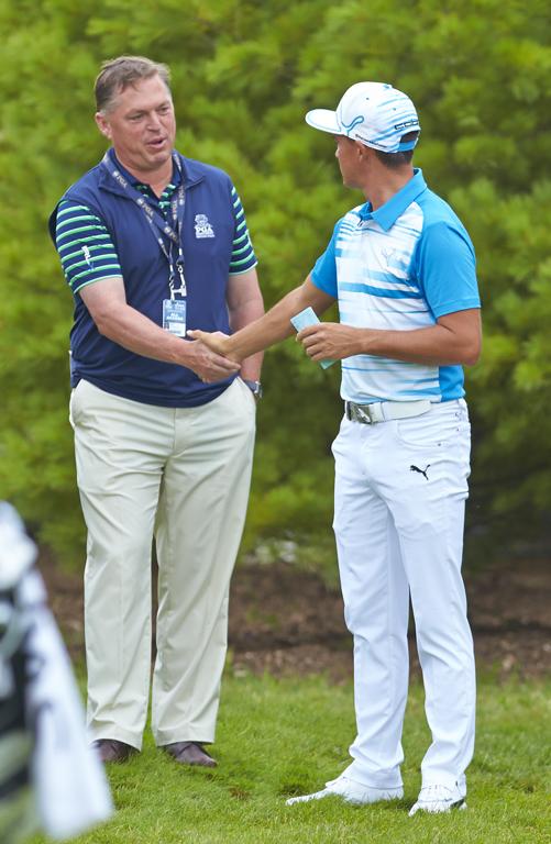 Jim & Rickie at 2015 PGA Championship