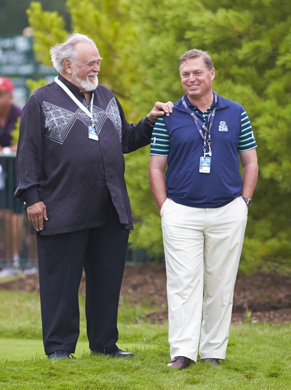 Mr. Kohler & Jim at 2015 PGA Championship