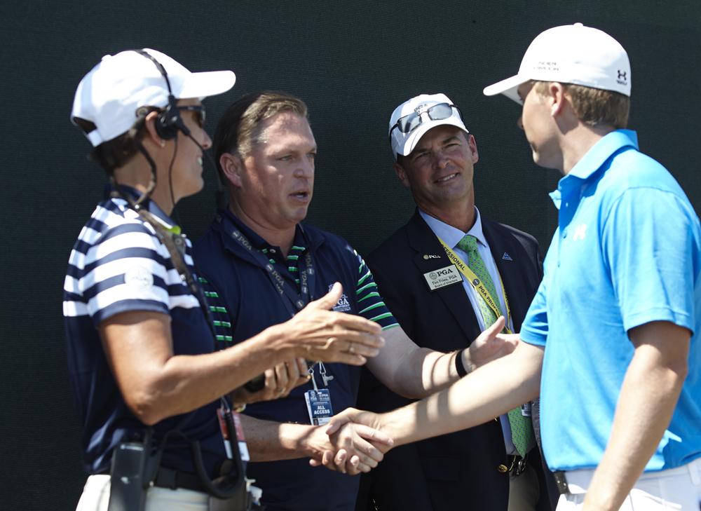 Jim & Jordan at 2015 PGA Championship