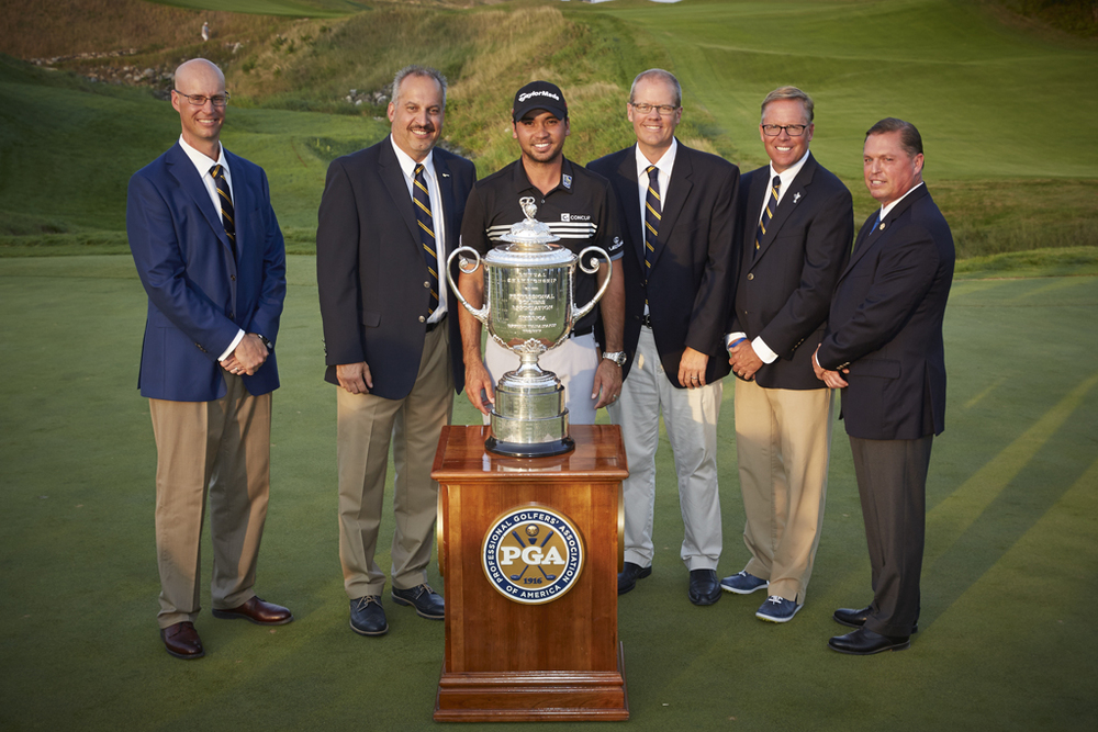 WPGA Officers with PGA Champion, Jason Day