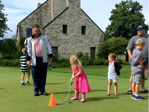 Junior Golf Academy Putting Contest