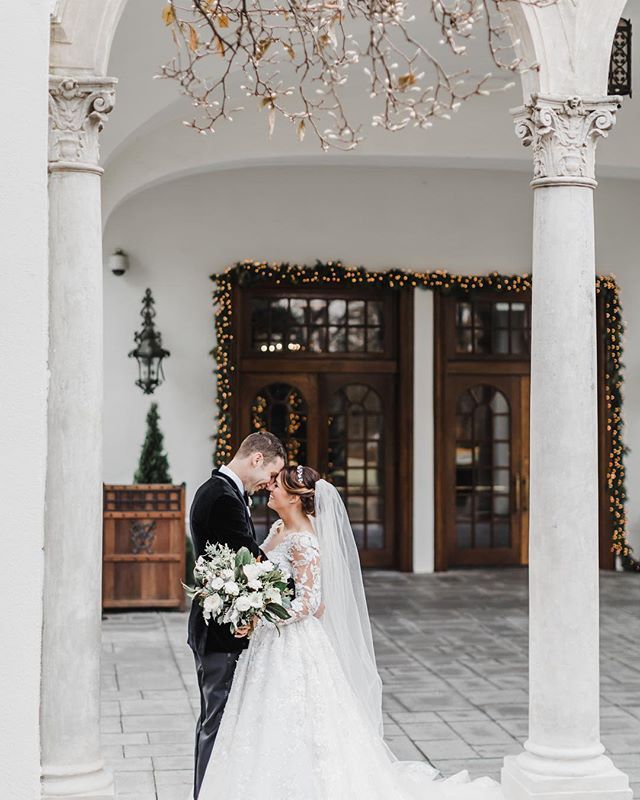 Wishing M+R a very happy 1st wedding anniversary!  Wishing you both many more happy years together.  In between the band, the snow machine, and the crazy good dessert bar, this was definitely one of those weddings we wished we were guests! ⠀ ⠀ Planning + Design: @ivyandhonor | Photographer: @jillianknightphotography | Florals: @darlinganddaughters | Hair and Makeup: @amiedeckerbeauty | Gown: @lovecouturebridal | Ceremony Venue: Holy Trinity Catholic Church | Reception Venue: @congressionalcountryclub | Videographer: @watchpvk | Band: @soundconnection_aked | Rentals @smthingvintage | Stationery: @hudsonpaperie | Calligraphy @blcalligraphy | Dessert Bar @saltandsugardesserts | Cigar Rolling: @cortezcigars | Ice Sculptures: @iceicemaybe | Linens: @bbjlinen | Bagpiper: Paul Cora | Planning Assistant: @honeybeeweddingsandevents Live Event Painter: @jamiegopaint ⠀ ⠀ #georgetownwedding #congressionalcountryclub #congressionalcountryclubwedding  #dcwedding #dcweddingplanner #mdwedding #mdweddingplanner #dmvwedding
