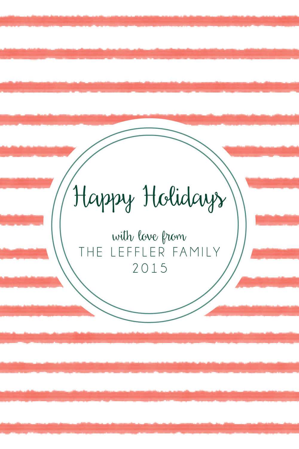 christmas card-coral stripes.jpg