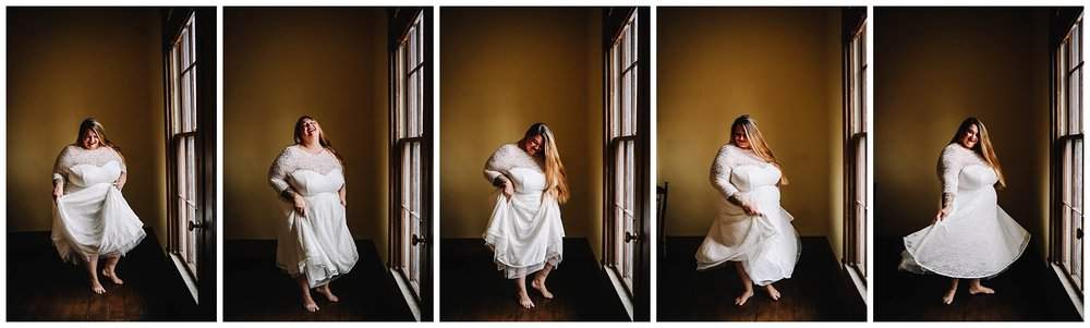 bridal boudoir | Indiana bridal boudoir | white dress boudoir| laughing woman