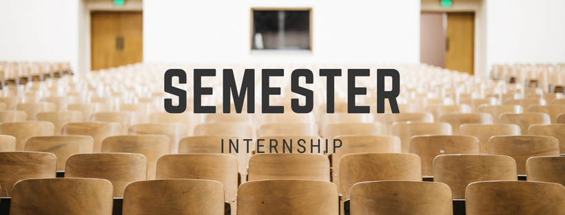 Semester Internship - A semester based internship experience for college students and young adults. Be developed by ministerial staff, gather valuable experience in making disciples, and use and fine tune your skills. Class credit is available for particular degree programs.
