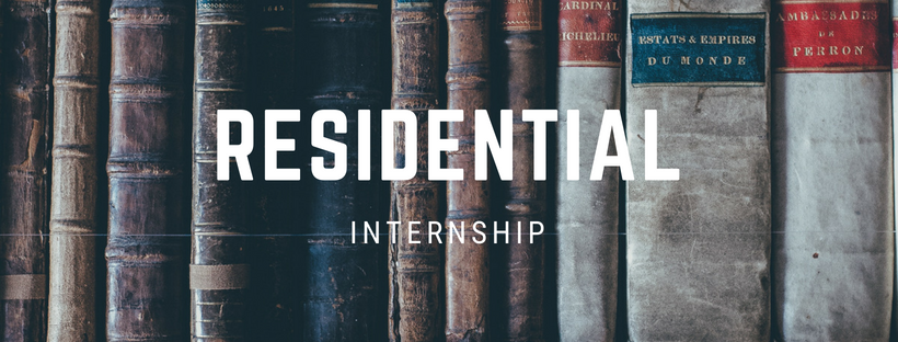 Residential Internship - The residential internship is a 2-3 year internship for college graduates who sense a call to full time ministry. Residential interns serve full-time within a ministry on an Immanuel campus gaining substantial leadership experience.