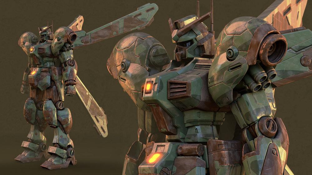 Gundam - Antonio Arroyo