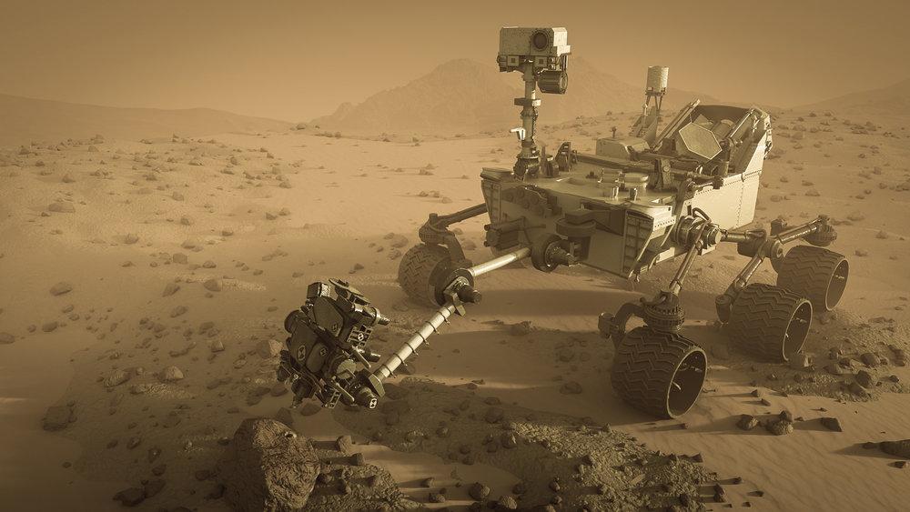 Curiosity Mars Rover - Ana Delgado