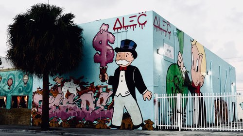 Even Alec Monopoly has two walls in Wynwood — Nadia Bouzid