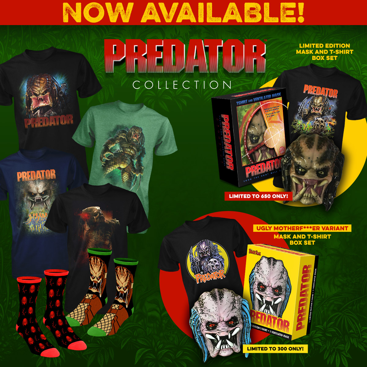 PREDATOR COLLECTION GOODIES from FRIGHT RAGS (link to