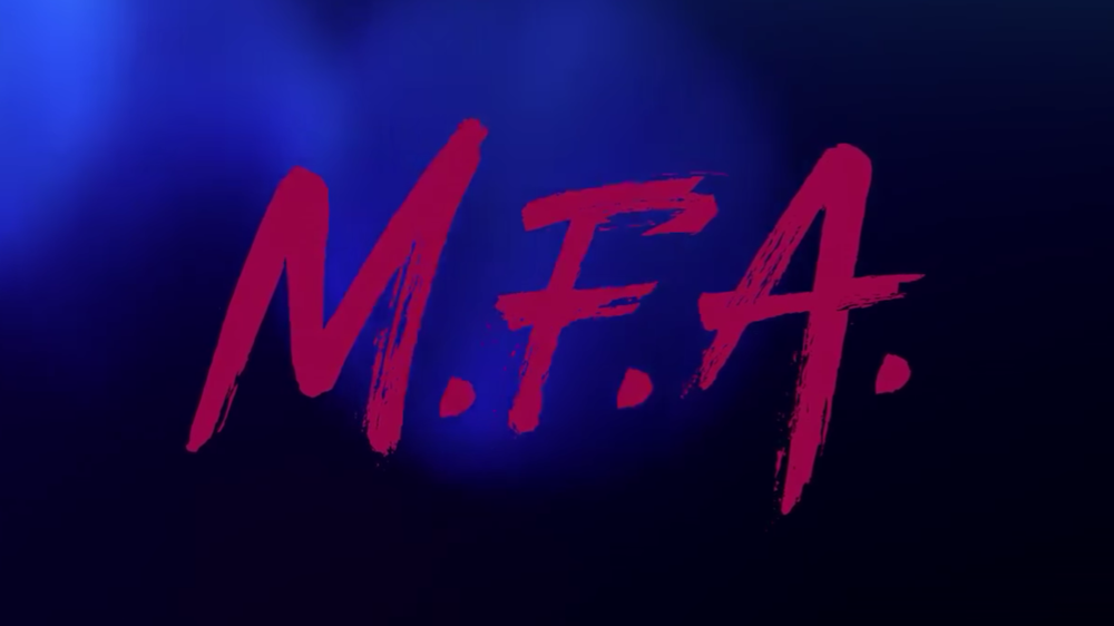 M.F.A. - An art student taps into a rich source of creative inspiration after the accidental slaughter of her rapist. An unlikely vigilante emerges, set out to avenge college girls whose attackers walked free.