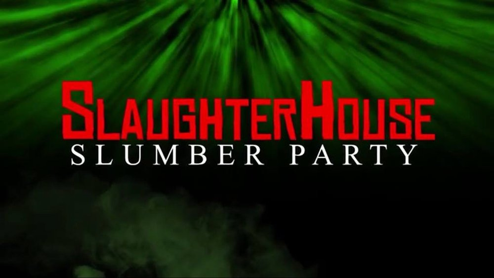 - Dustin Mills Productions, the production house that brought you THE PUPPET MONSTER MASSACRE and EASTER CASKET, is proud to present the trailer debut for their upcoming horror extravaganza SLAUGHTERHOUSE SLUMBER PARTY. This is DMP's most ambitious project yet, with a cast of both new and familiar faces and incredible makeup and effects by Marcus Koch (MOHAWK, WE ARE STILL HERE, the AMERICAN GUINEA PIG series) and Dustin Mills himself. DMP is running a crowdfunding campaign on Kickstarter from July 8th through August 7th, and backers get immediate access to the full uncensored proof-of-concept trailer.