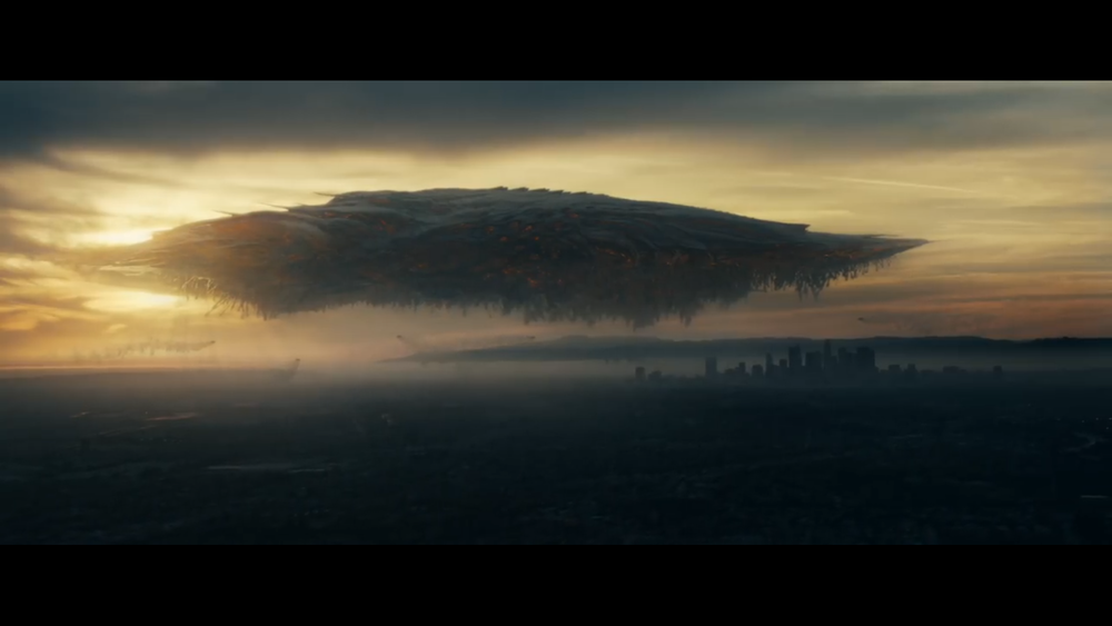 The storm Kaiju as it's seen in the short film.