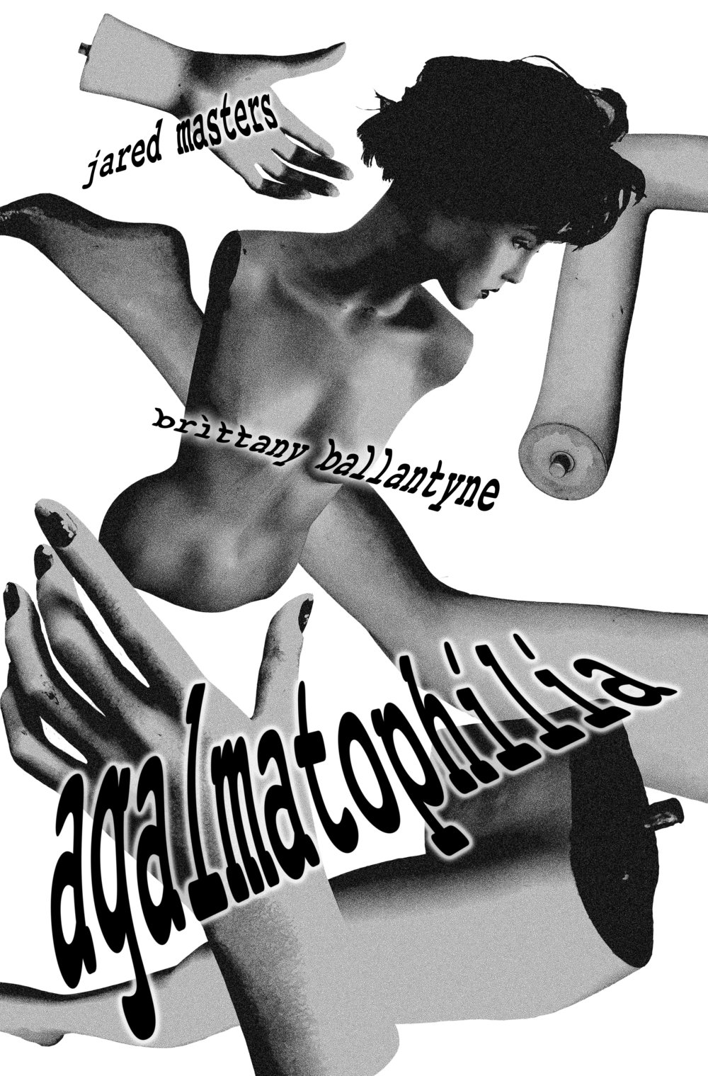 Agalmatophilia (pronounced A-GAL-MATTO-PHILIA,is a paraphilia involving sexual attraction to a statue, doll, mannequin) is the story of Guy Talbot, an isolated workaholic who seeks a secretary to help manage his life and business. He hires his first applicant, Iesha Stayput, who oddly enough appears to be a living, breathing mannequin. She aides him in business affairs, slowly but surely, but her professionalism quickly becomes secondary to Guy's ulterior motives… Complicating matters is his vivacious client, Veronique, who swoons over Guy, perhaps as a curiously, frustrated about his lack of interest in her and obvious growing obsession with his new co-worker, who may or may not be little more than a twisted fantasy, forced into fruition. Can Guy find happiness with a moving, speaking mannequin, or will he finally fall for Veronique, who may have an odd obsession of her own?