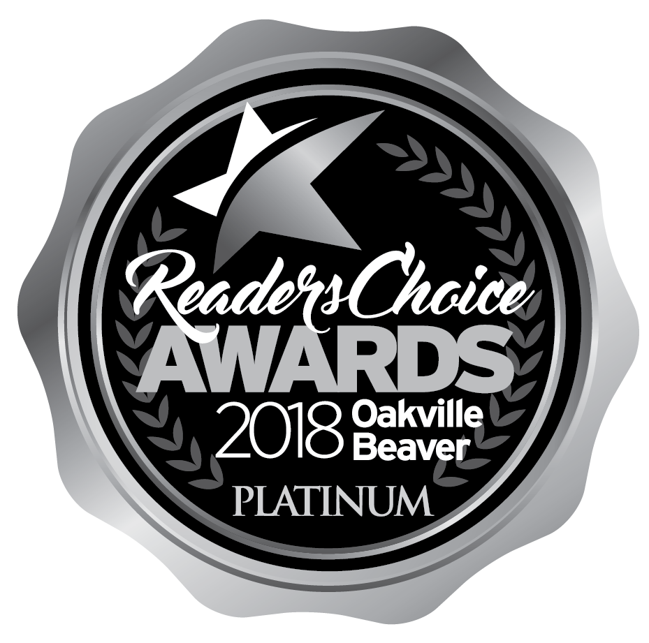 2018 Platinum Oakville Readers' Choice Award for Printing Shop