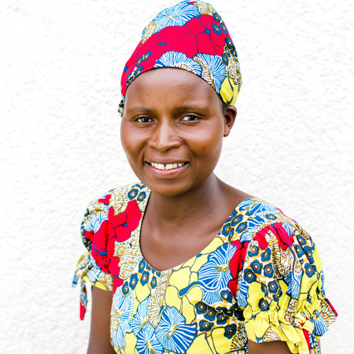 Chantal - In 1982, Chantal's father passed away and the family was forced to work cultivating land for very little pay. Despite the hardship, Chantal was able to finish secondary school, earning a degree in accounting. She married in 1998 and has six children. Since becoming an employee of True Vineyard, Chantal has been able to buy two sheep and provide regular meals for her children. 0% Sponsored