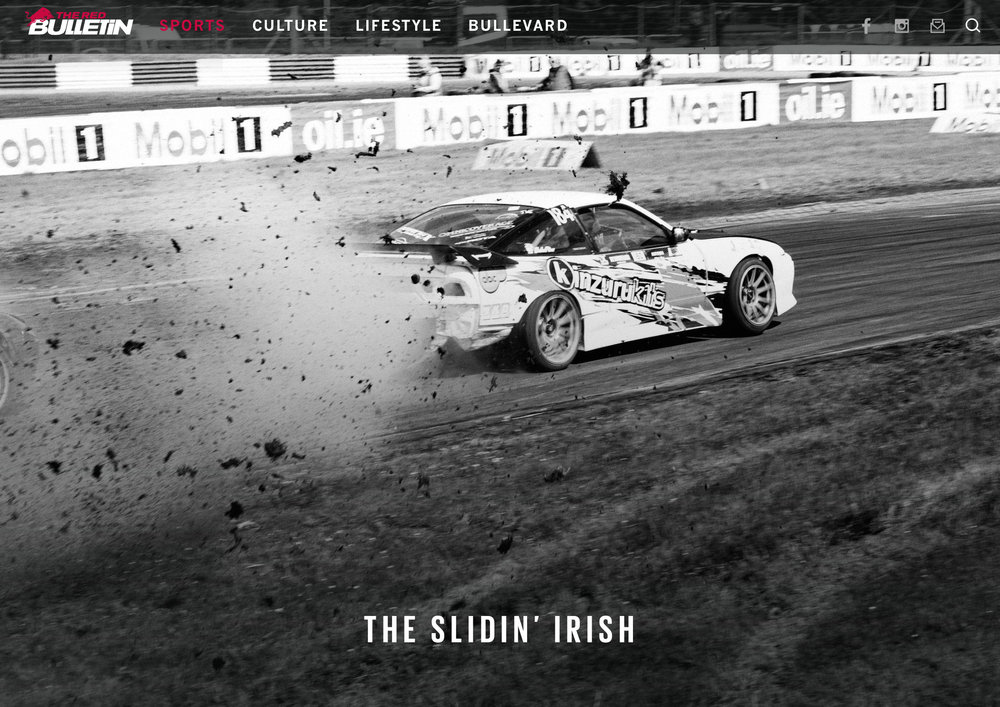 Irish Drift Championships for Red Bull