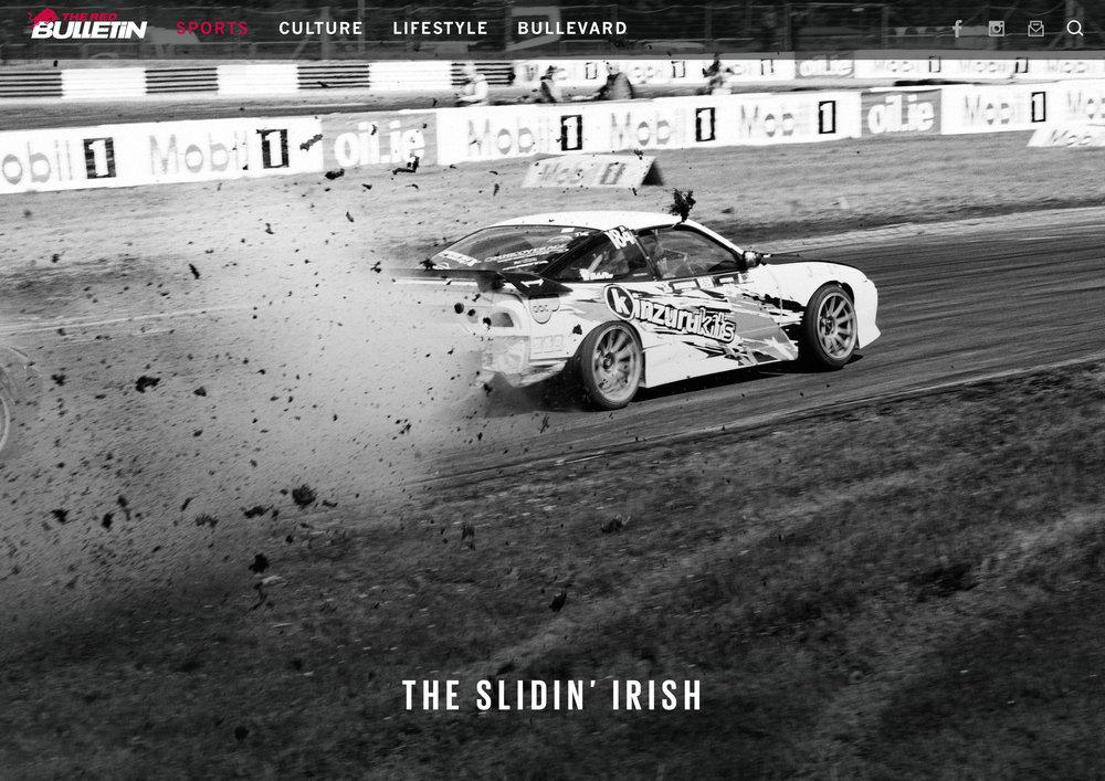 Irish Drift Championships for Red Bull