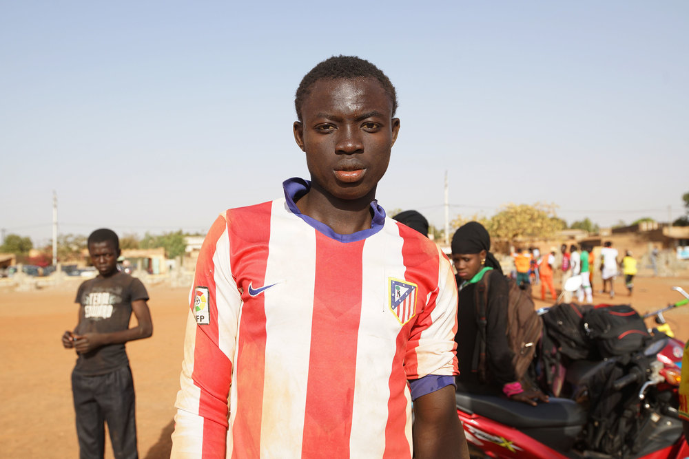 MARCH 2018  DOCUMENTING LOCAL FOOTBALL IN BURKINA FASO