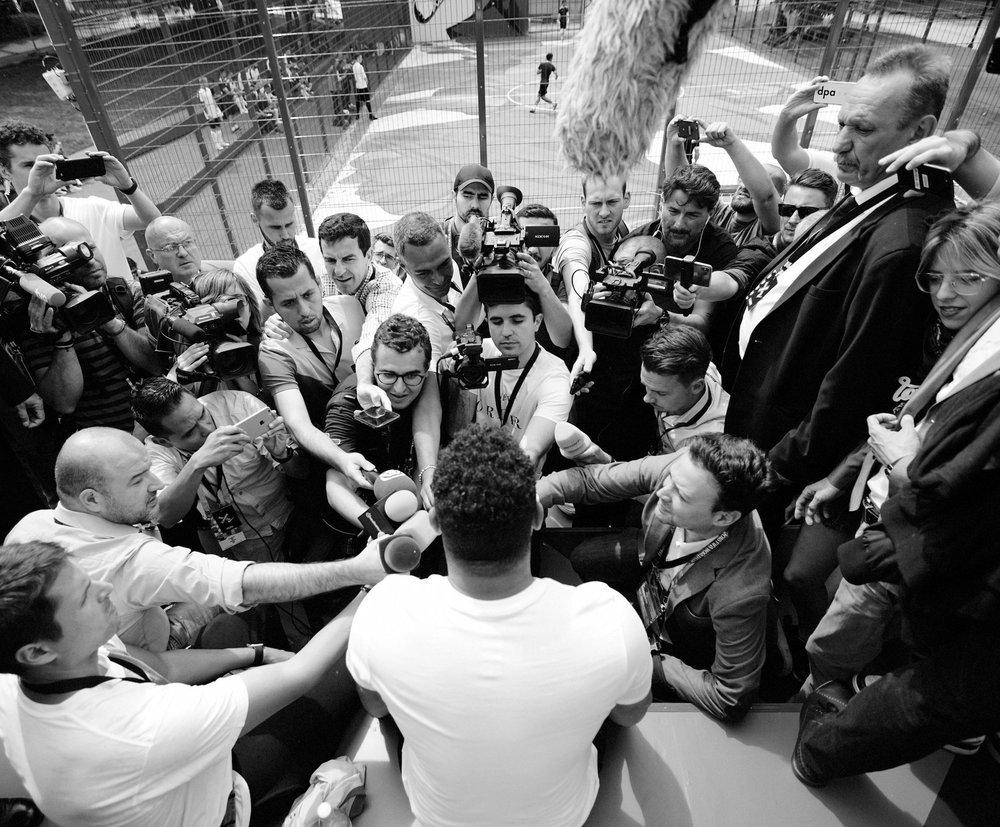 Ronaldo in Moscow