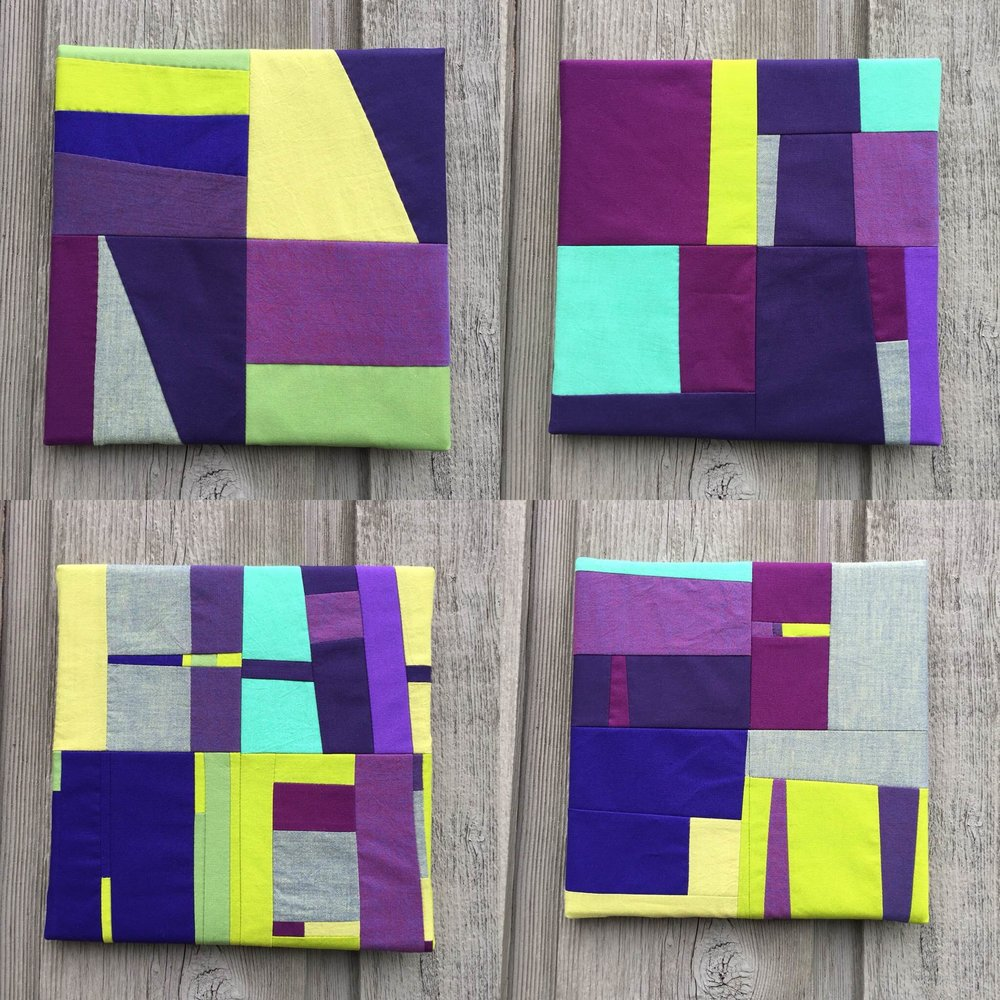 Green and Purple Nos. 1 through 4